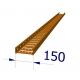 B15862 Tray, Cable ST3 150mm x 3M Orange