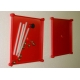 18600053  Cover Set, 160 Red