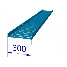 B15932 Tray, Cable ST3 300mm x 3M Blue