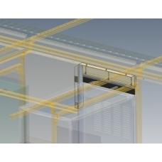 B16101-03 Kit - Air Barrier Panel Over 2.2M Racks