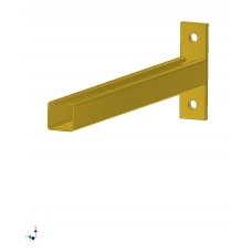 353/02393  Bracket, Cantilever 450mm 2663-450 ZPY