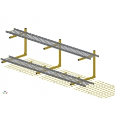 B9776  Kit, Intrasuite Tray for 2120mm Suites C/C Ironwork